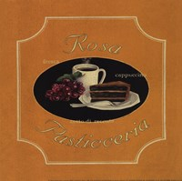 Rosa Pasticceria - Special Framed Print