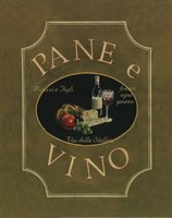 Pane E Vino - Mini Framed Print