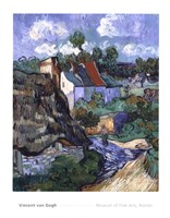 Houses at Auvers, c.1890 Fine Art Print