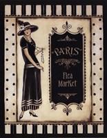 Paris Flea Market - Mini Framed Print