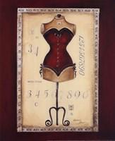 Taille De Robe I - Mini Fine Art Print