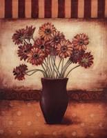 Red Daisies - Grande Framed Print