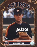 Nolan Ryan - Studio Plus (Astros) Fine Art Print