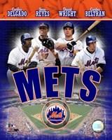 2007 - Mets Big 4 Hitters Fine Art Print