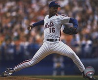 Dwight Gooden - 1988 Action Framed Print