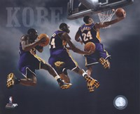 2007 - Kobe Bryant Multi Exposure Fine Art Print