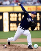 Trevor Hoffman - 2007 Pitching Action Fine Art Print