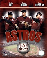 2007 - Astros Big 3 Hitters Fine Art Print