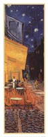 The Cafe Terrace on the Place du Forum, Arles, at Night, c.1888 (detail) Fine Art Print