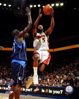 Baron Davis - '07 Playoff Action Fine Art Print