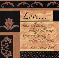 Words To Live By, BlackgoldLove Fine Art Print