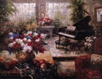 Grand Piano Fine Art Print