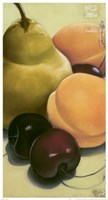 Pear, Apricots & Cherries Fine Art Print