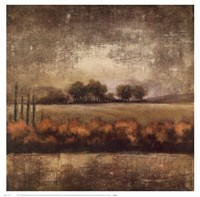Field at Dawn II Fine Art Print