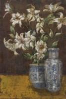 Delft Lilies Fine Art Print