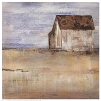 Barn & Field I Fine Art Print