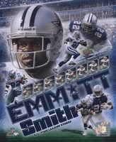 Emmitt Smith - 2007 Legends Composite Fine Art Print