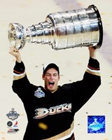 Ryan Getzlaf - 2007 Stanley Cup / With Cup (#19) Fine Art Print