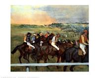 Racehorses Fine Art Print