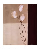 Floral Whispers I Fine Art Print
