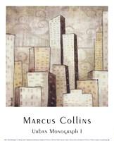 Urban Monograph I Framed Print