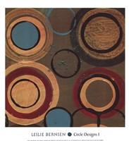 Circle Designs I Fine Art Print