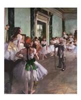 Dance Class Fine Art Print