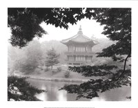 Lotus Pavillion I Framed Print
