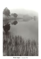 Lakeside Mist Fine Art Print