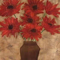 Crimson Explosion I Fine Art Print