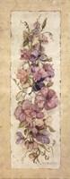 Sweetpeas for Annabelle I Framed Print