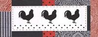 Les Poulets I Fine Art Print
