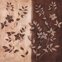 Russet Leaf Garland II Fine Art Print