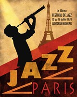 1970 Jazz in Paris Fine Art Print