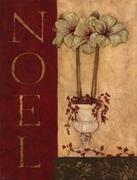 Noel - with flowers Fine Art Print
