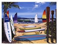 Surf 'N Sail Fine Art Print