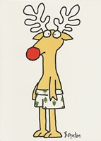 Christmas - Reindeer Greeting Card
