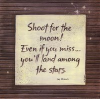 Shoot For The Moon Fine Art Print