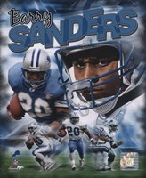 Barry Sanders - Legends Composite Fine Art Print