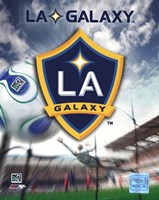 LA Galaxy Team Logo (2007) Framed Print