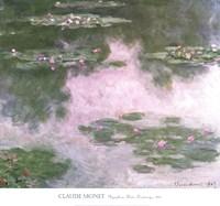Nympheas, Water Landscape, 1907 Fine Art Print