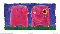 Funky Elephant Fine Art Print