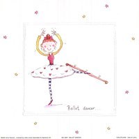 Ballet Dancer Framed Print