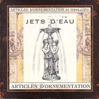 Jets d'Eau Fine Art Print