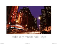 Radio City NYC Fine Art Print