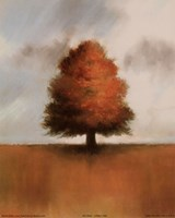 Lonely Oak Fine Art Print