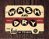 Wash and Dry Fine Art Print