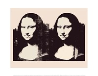 Double Mona Lisa, c.1963 Fine Art Print