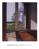 Small Flowered Doorway, 1996 Fine Art Print