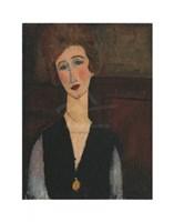 Portrait of a Woman, c.19171918 Fine Art Print